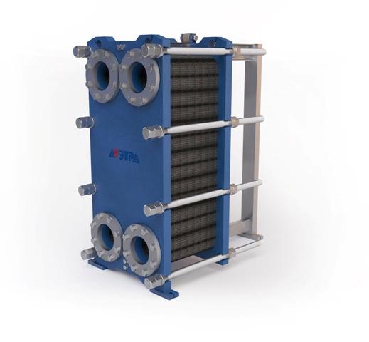 Разработка пластинчатого теплообменника Кожухотрубный испаритель ONDA LSE 1100 Балашов