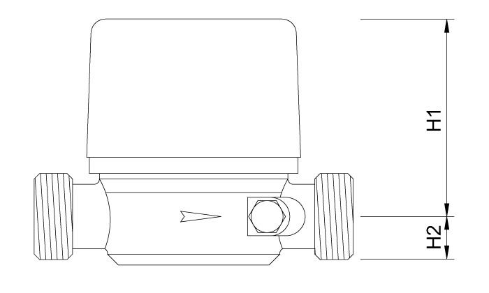 Одноструйный расходомер ETH-I