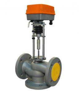 Трехходовые смесительные регулирующие клапаны TRV-3