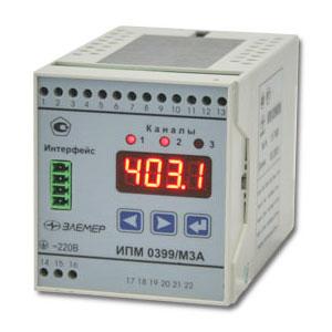 Измерительные преобразователи модульные ИПМ 0399 М3