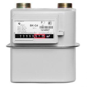 Бытовые диафрагменные счётчики газа серии ВК-G(Т)